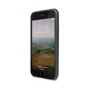 Twelve South Relaxed Leather Case iPhone 8/7 Black Voorkant