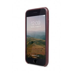 Twelve South Relaxed Leather Case iPhone 7 Marsala Voorkant