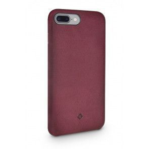 Twelve South Relaxed Leather Case iPhone 8 Plus / 7 Plus Marsala Achterkant