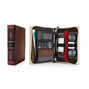 Twelve South BookBook Travel Journal voor iPad en accessoires (open en dicht)