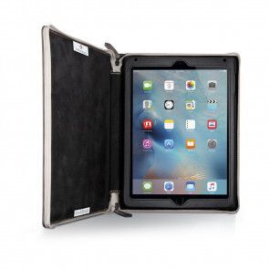 Twelve South BookBook iPad Air 1/2 Vintage Brown open