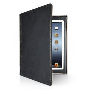 Twelve South BookBook iPad 3 / 2 Case Vol. 2 Black Voorzijde Open