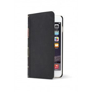 Twelve South BookBook iPhone 7 Case Wallet Black voorzijde