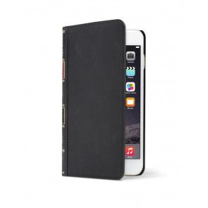 Twelve South BookBook iPhone 6 Plus Case Wallet Black voorzijde