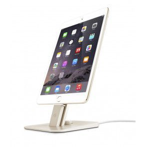 Twelve South HiRise Deluxe Gold for iPhone and iPad met iPad