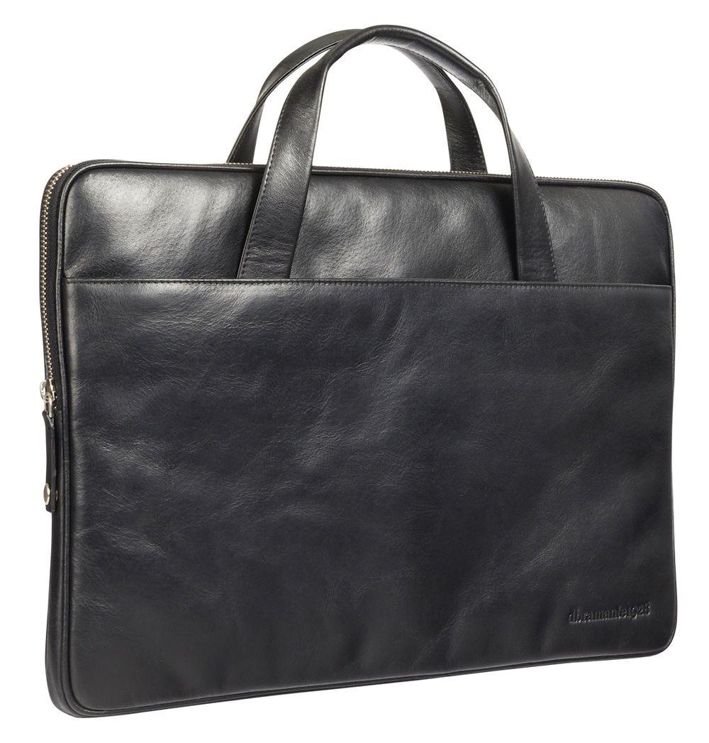 Laptophoes dbramante1928 Silkeborg Leather Sleeve Black 13 inch
