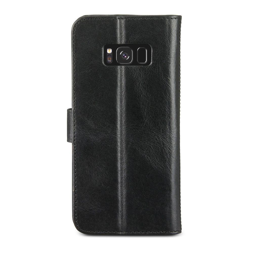 dbramante1928 Copenhagen 2 Leather Wallet Samsung Galaxy S8+ Hoesje Zwart