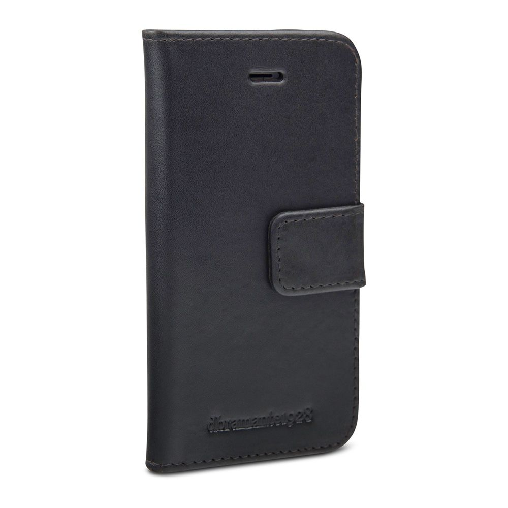iPhone hoesje dbramante1928 Copenhagen Leather Wallet iPhone 5/5S/SE Hoesje Hunter