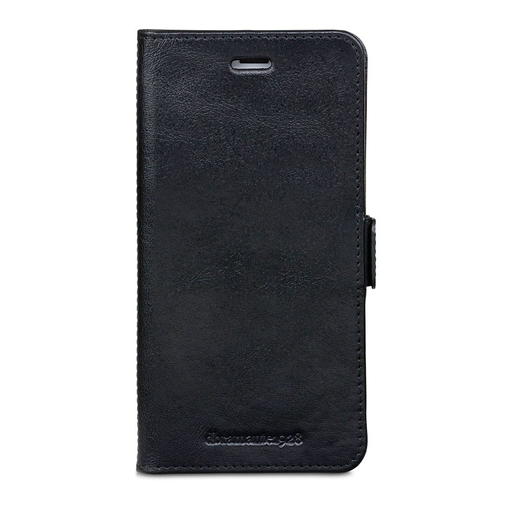 dbramante1928 Copenhagen Leather Wallet iPhone 8/7/6 Plus hoesje Black