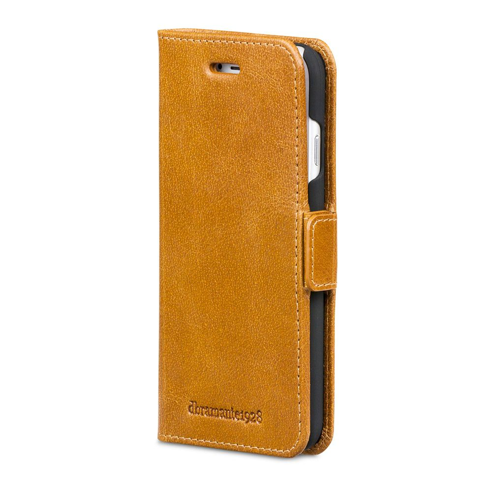 dbramante1928 Copenhagen Leather Wallet iPhone 8/7/6 Plus hoesje Tan