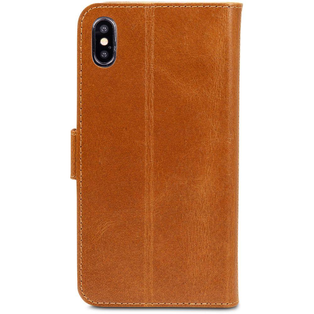 dbramante1928 Copenhagen Leather Wallet iPhone XS Max Tan