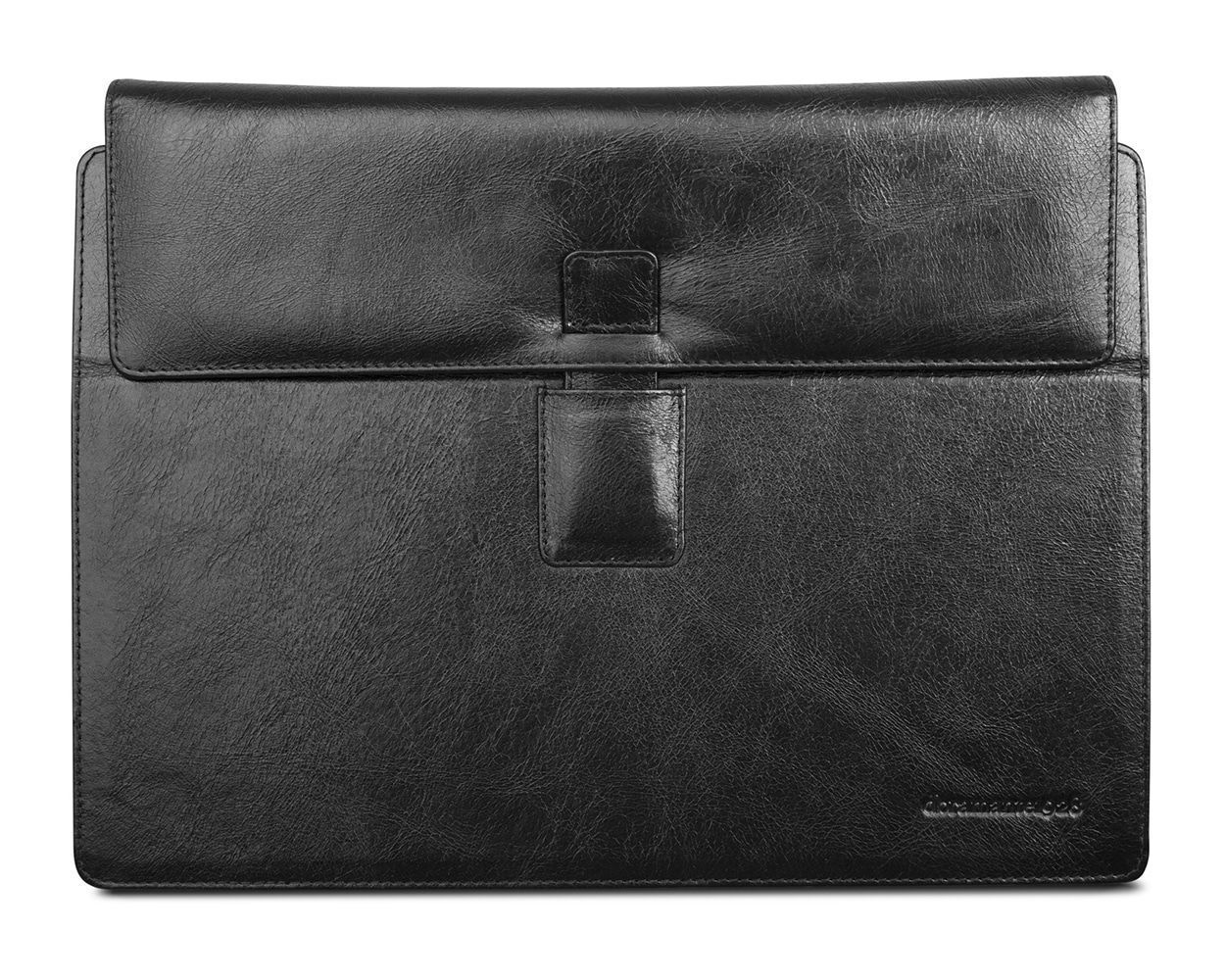 Laptophoes dbramante1928 Leren Envelope MS Surface 3/4 Pro & RT Hellerup Zwart