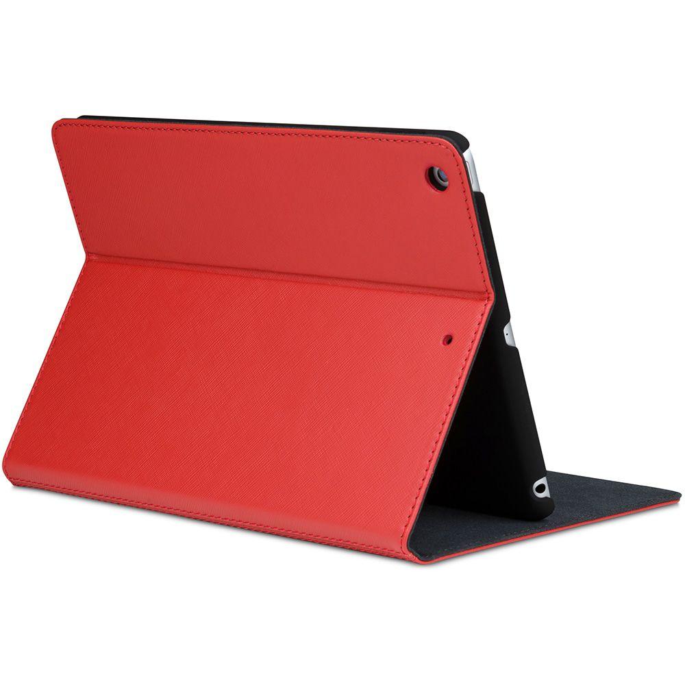 iPad case dbramante1928 Leren iPad Case 2017/2018 Mode Tokyo Red Lava