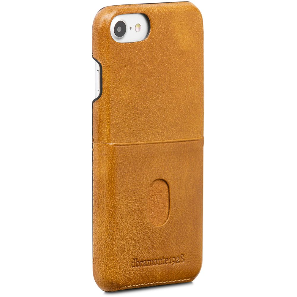 dbramante1928 Tune cc Leather Backcover iPhone 8/7/6 Hoesje Tan