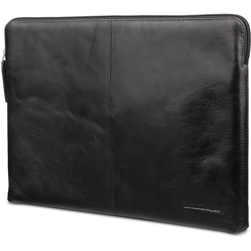 Laptophoes dbramante1928 Leren Laptop Sleeve 13 inch MB Pro/Air 2016/18) Skagen Zwart