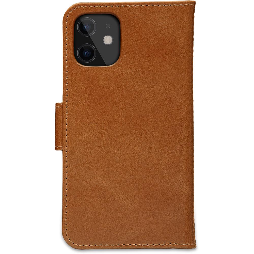 dbramante1928 Leren Wallet Hoesje iPhone 12 mini Lynge Tan