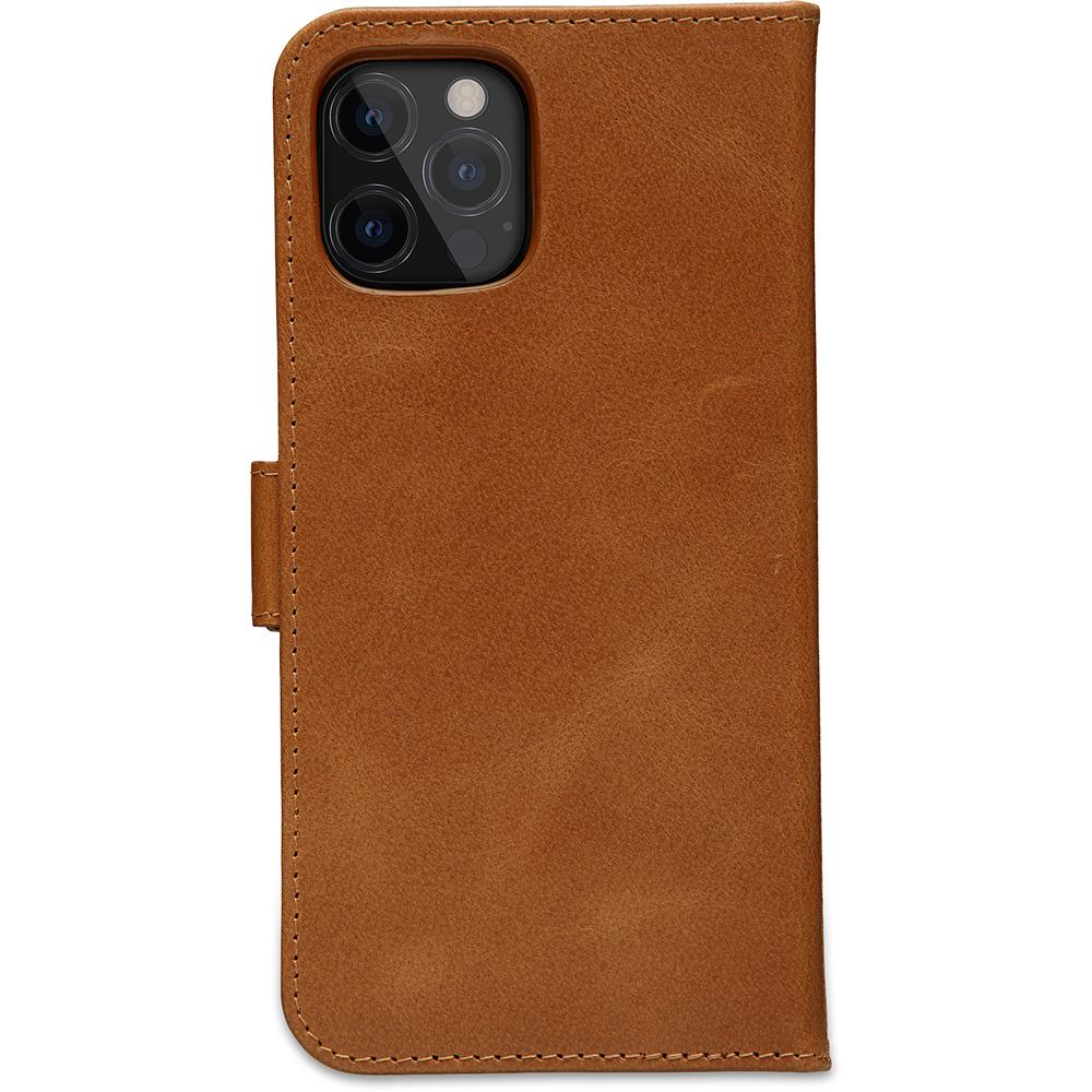 dbramante1928 Leren Wallet Hoesje iPhone 12 & 12 Pro Lynge Tan