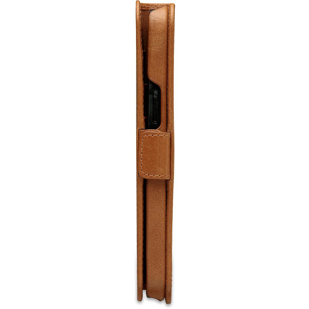 dbramante1928 Leren Wallet Hoesje iPhone 12 Pro Max Lynge Tan