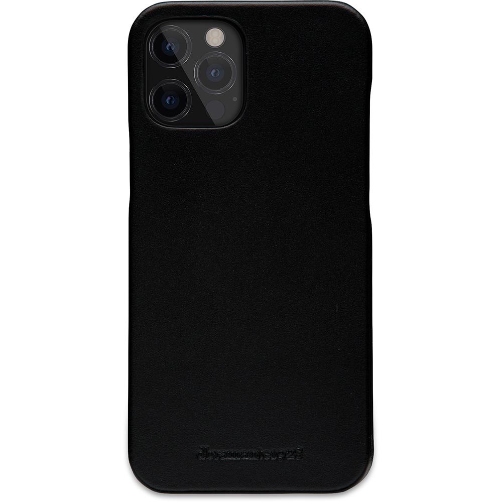 dbramante1928 Leren Wallet Hoesje iPhone 12 Pro Max Lynge Zwart