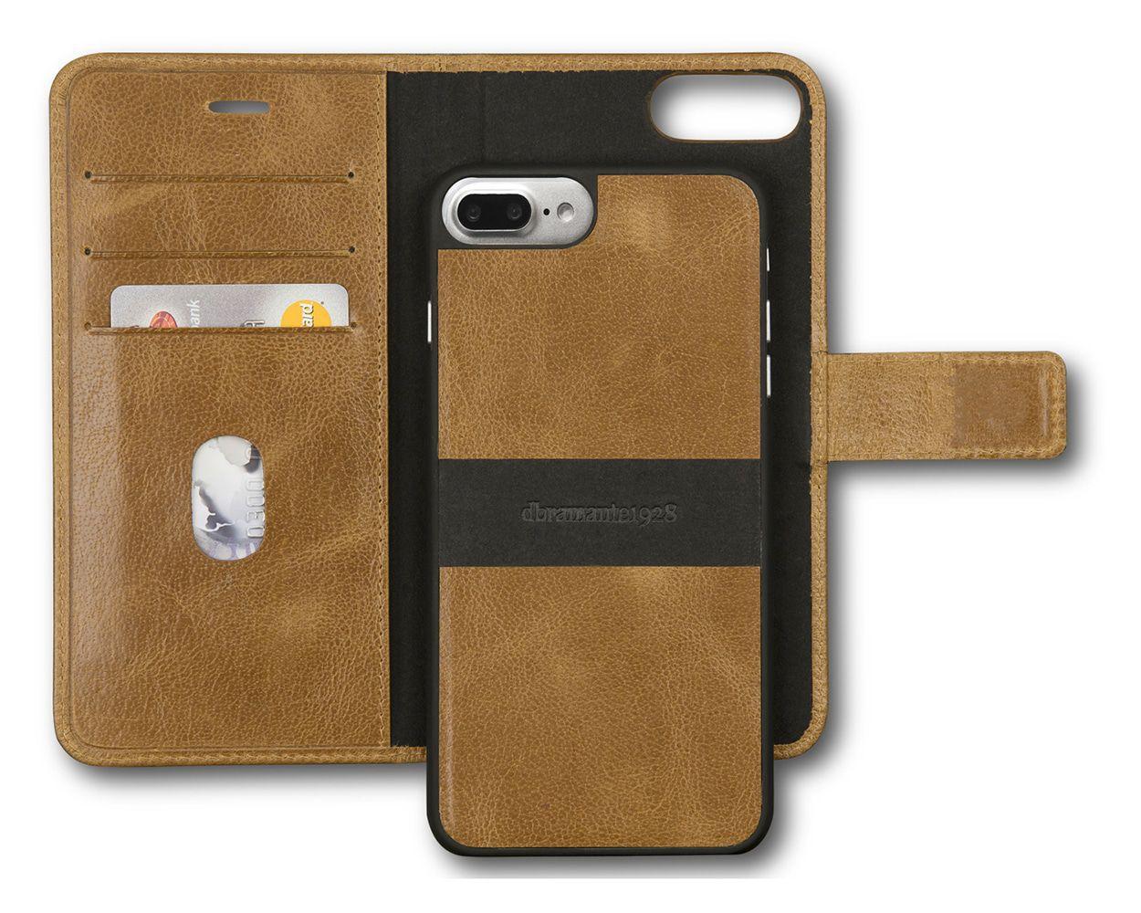 dbramante1928 Lynge 2 Leather Wallet iPhone 7 Plus Tan