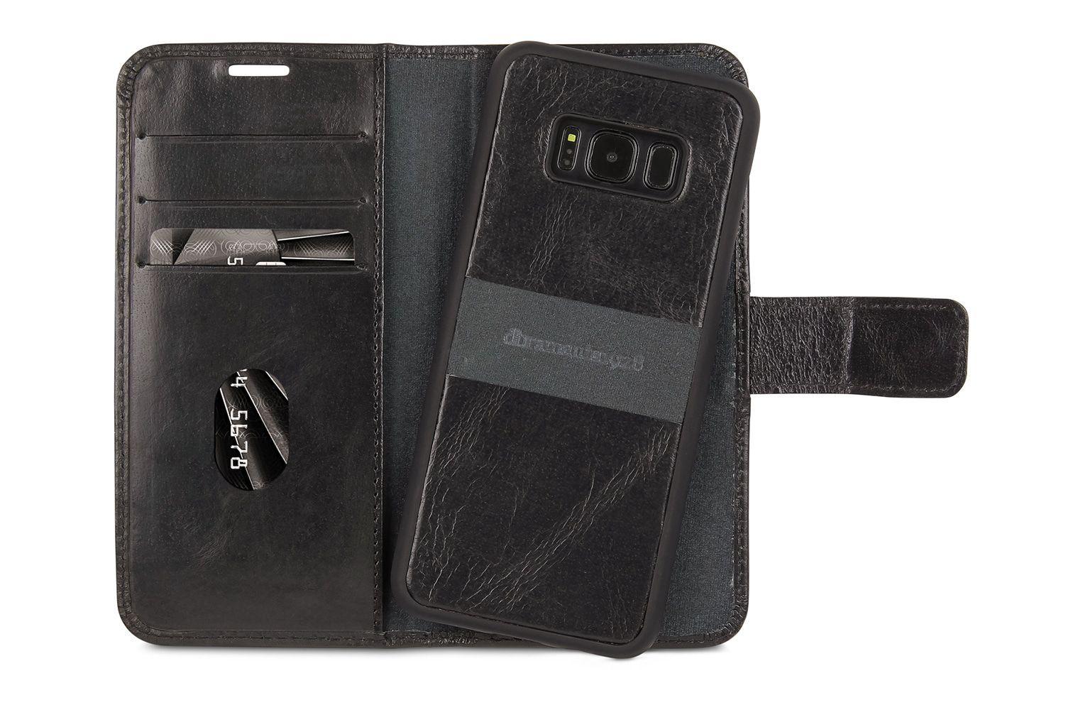 dbramante1928 Lynge 2 Leather Wallet Samsung S8 Hoesje Black