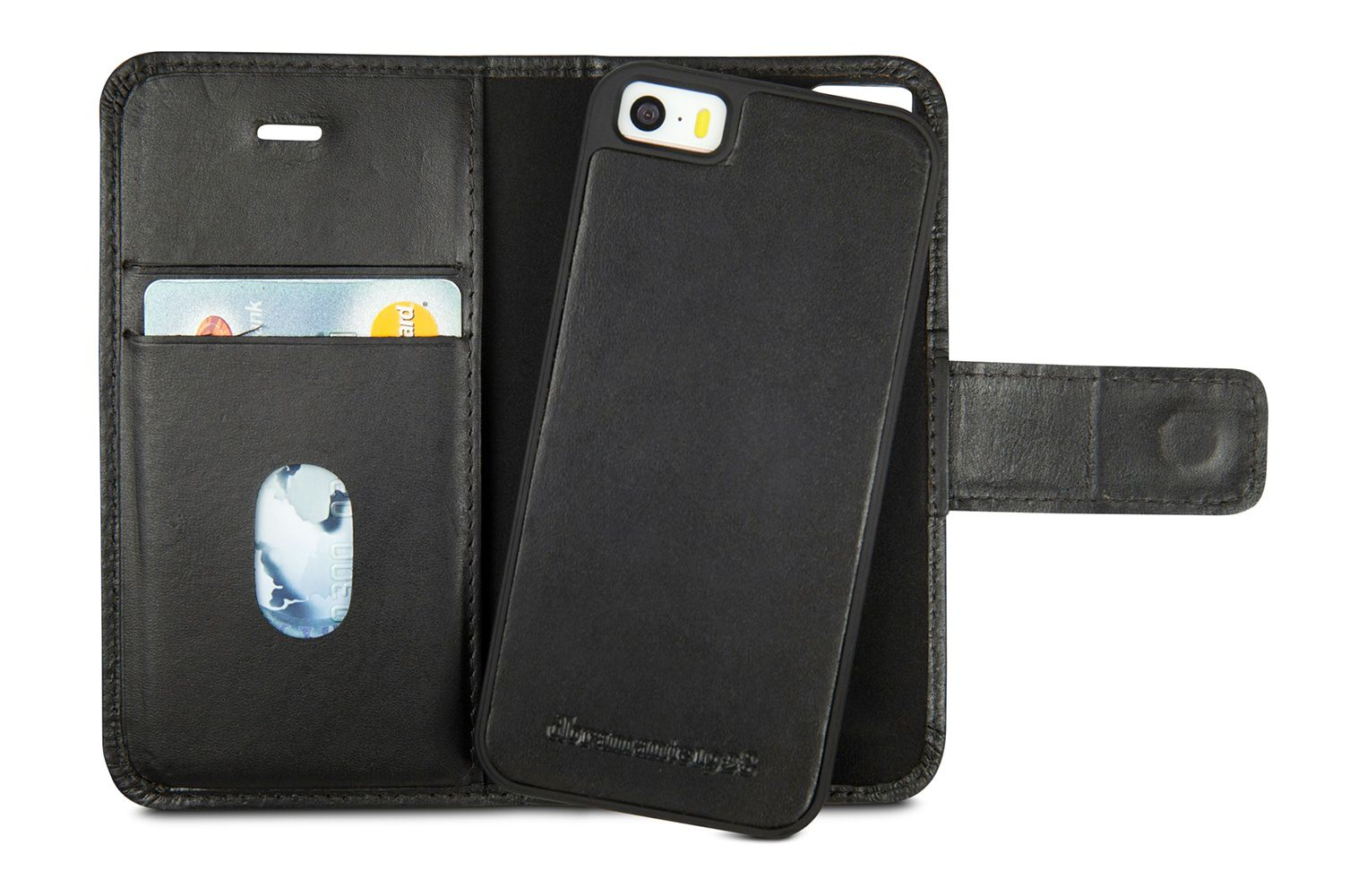 iPhone hoesje dbramante1928 Lynge Leather Wallet iPhone 5/5S/SE Hoesje Hunter