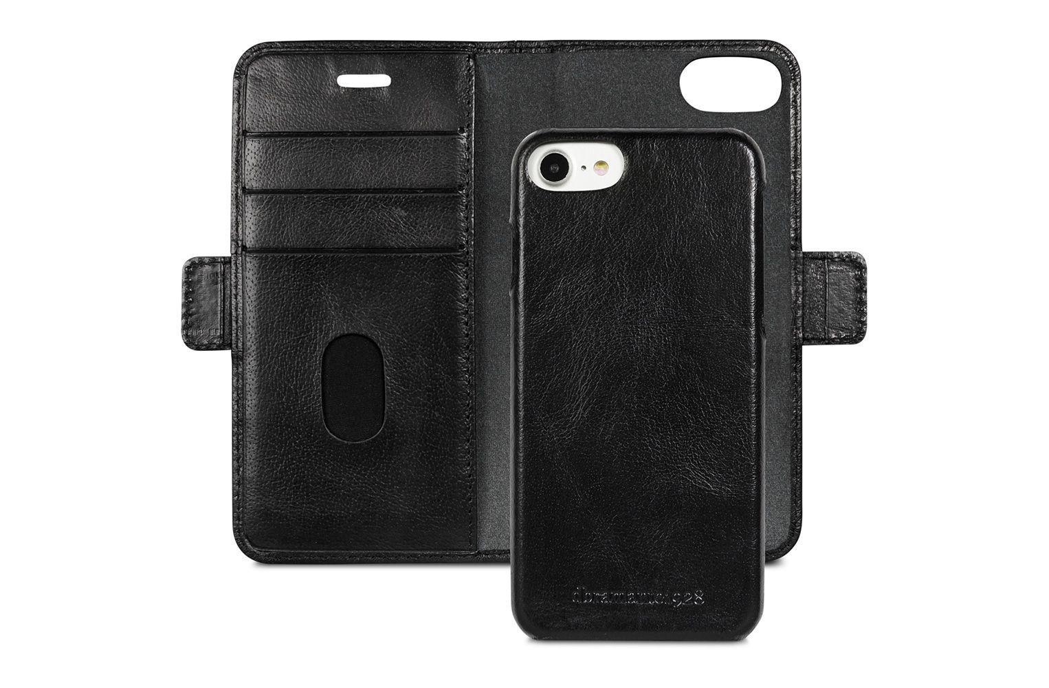 dbramante1928 Lynge Leather Wallet iPhone 8/7/6 Series Zwart