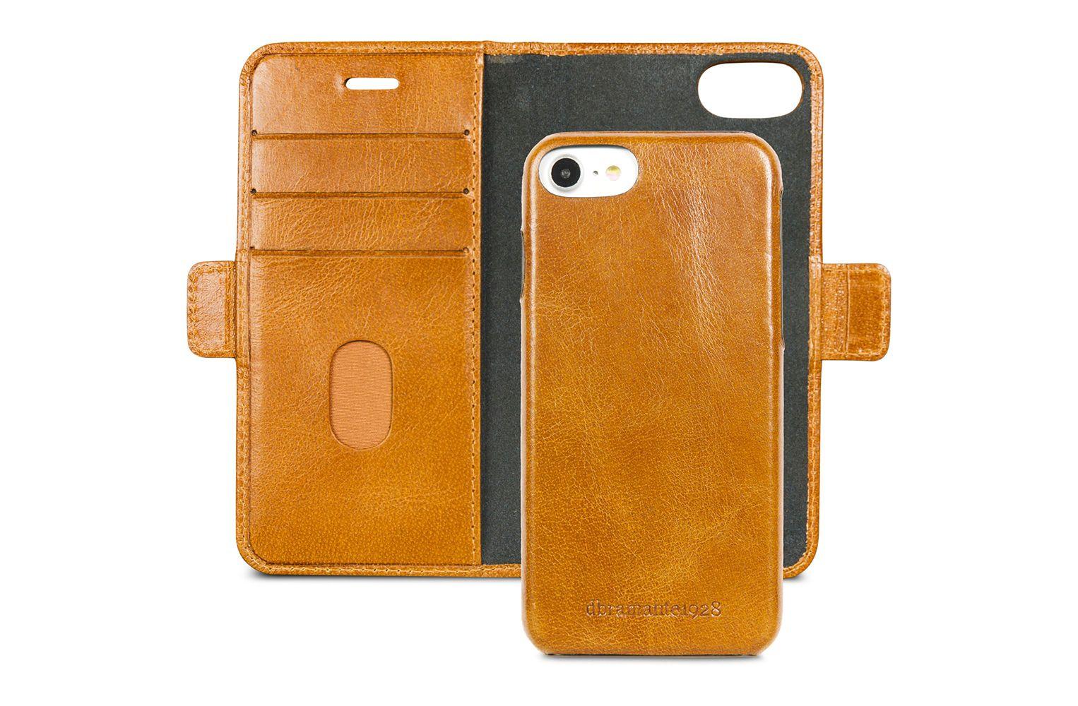 dbramante1928 Lynge Leather Wallet iPhone 8/7/6 Series Tan