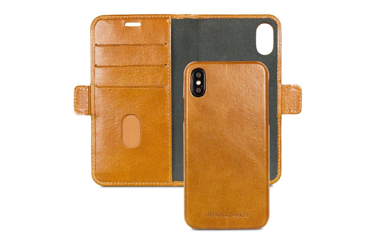 dbramante1928 Lynge Leather Wallet iPhone X Tan