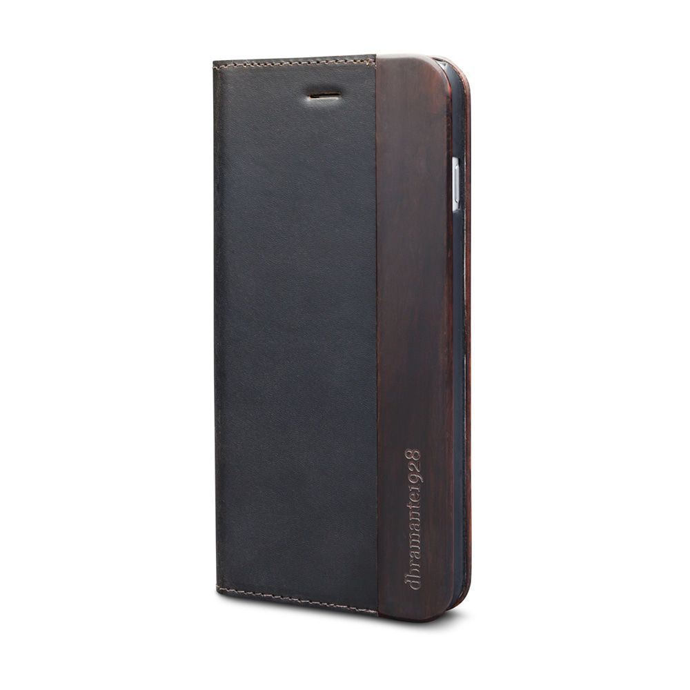 iPhone case dbramante1928 Risskov iPhone 6/6S Hunter Dark & Black Wood
