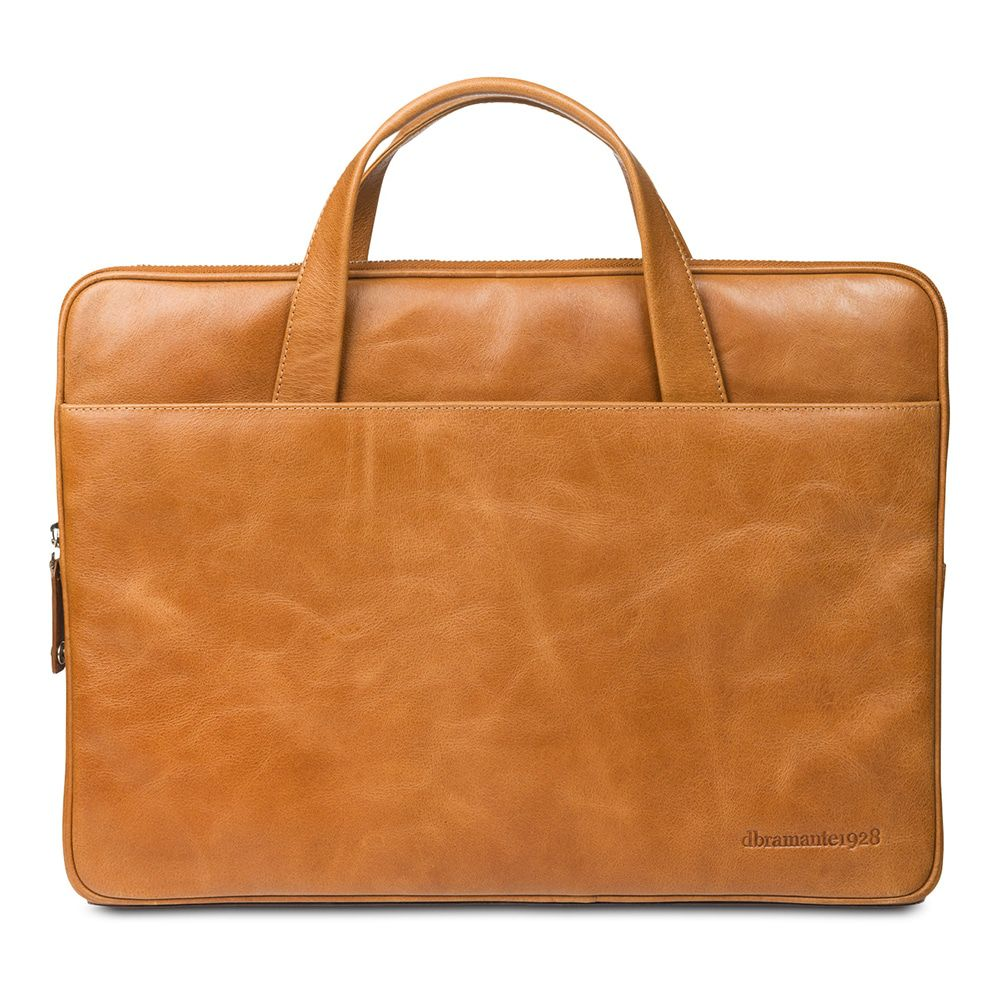 Laptophoes dbramante1928 Silkeborg Leather Sleeve Tan 15 inch