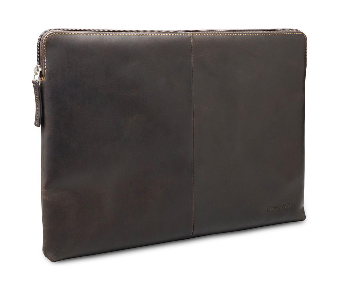Laptophoes dbramante1928 Skagen Leather Sleeve MacBook 13 inch Hunter Dark