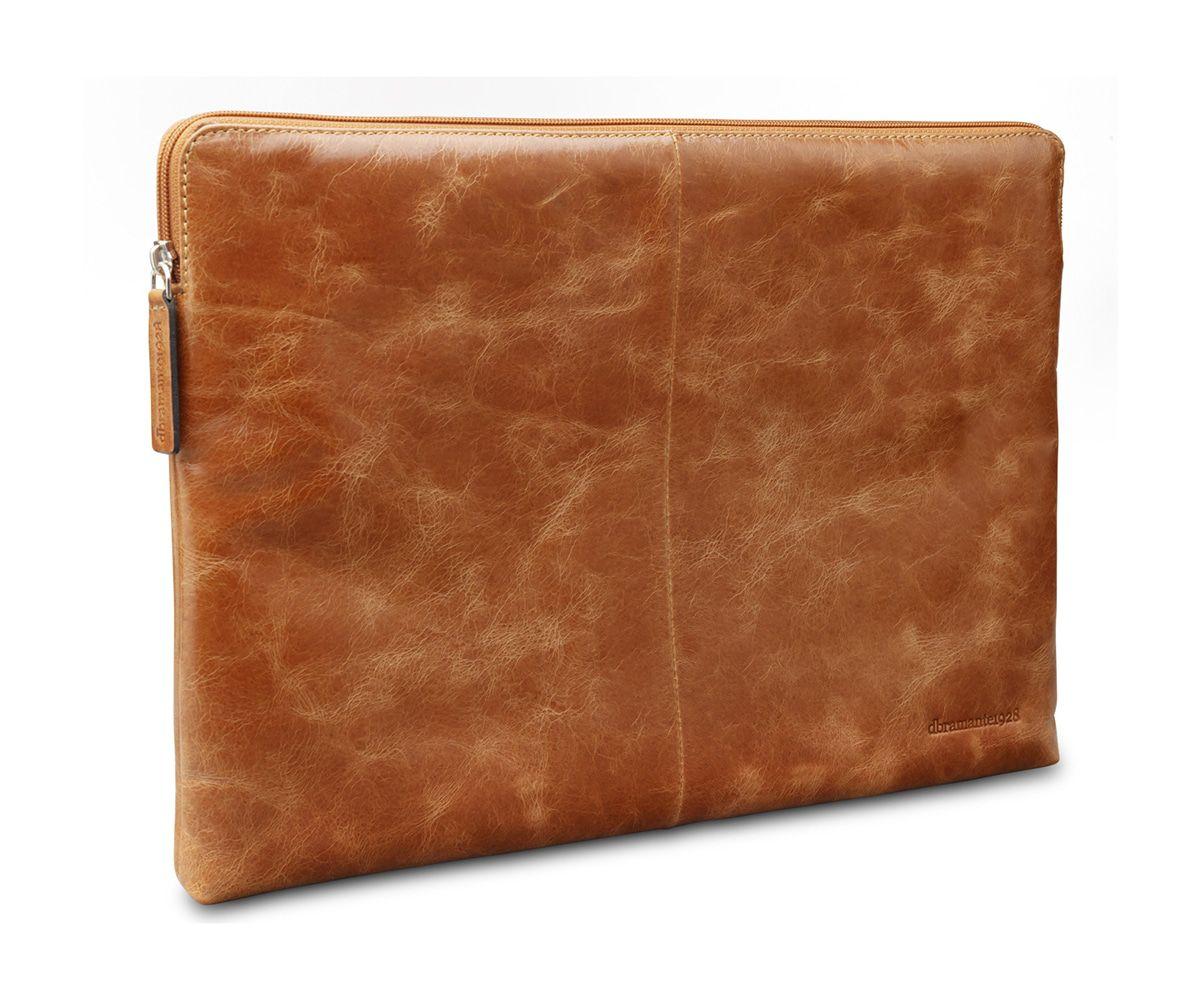 Laptophoes dbramante1928 Leren Laptop Sleeve 15 inch MacBook Pro Skagen Tan