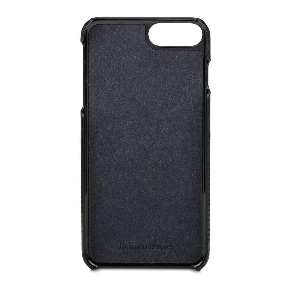 dbramante1928 Tune Leather Backcover iPhone 8/7/6 Plus Hoesje Black