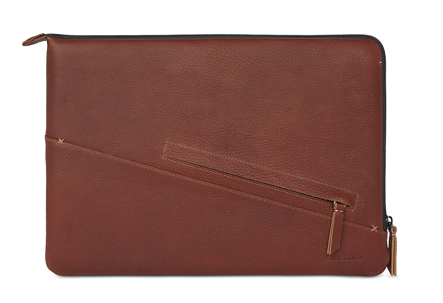 Decoded Leather Slim Sleeve MacBook Pro 13 inch / Pro Retina 13 inch Brown