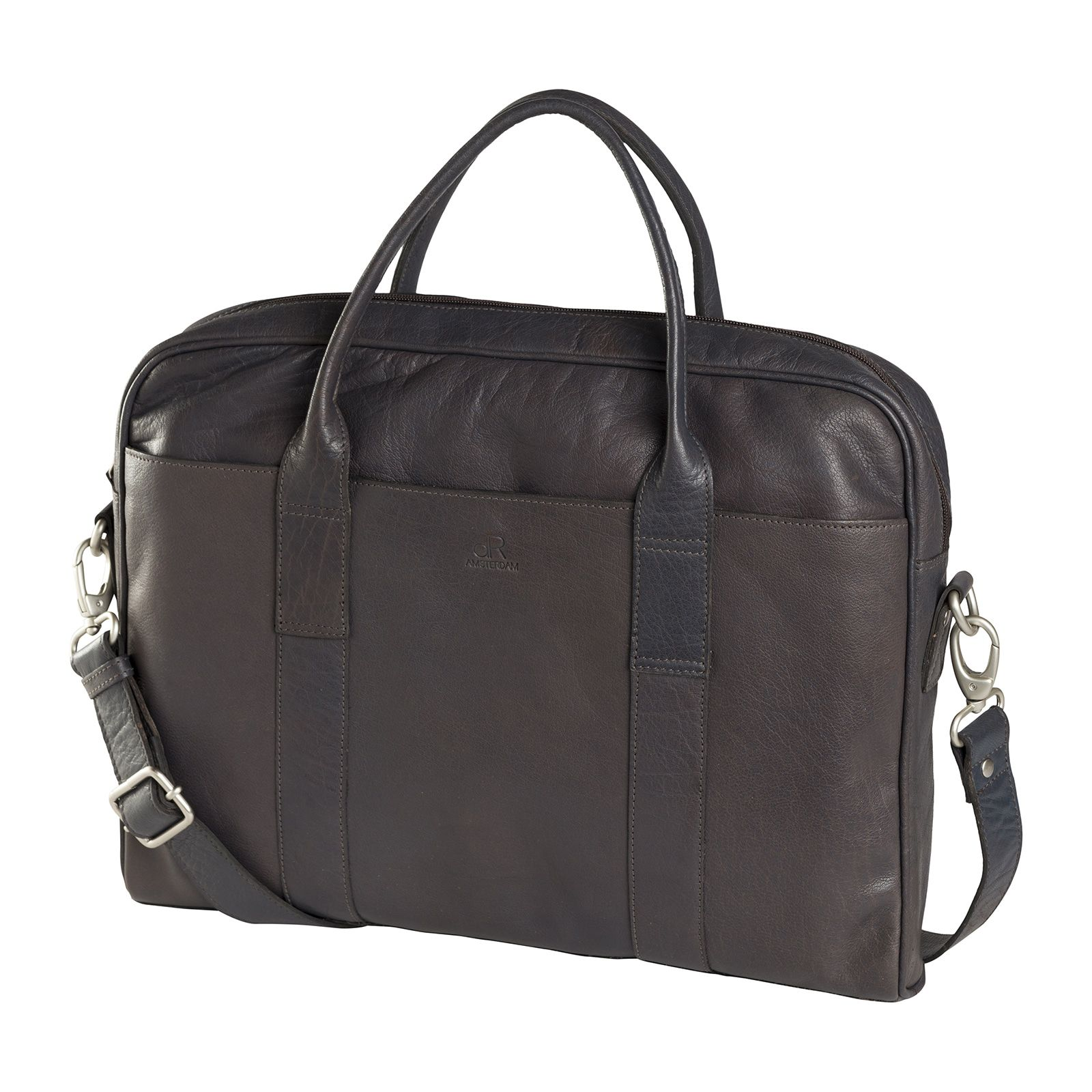 de Rooy dR Amsterdam Icon Laptoptas 13.3 inch Taupe