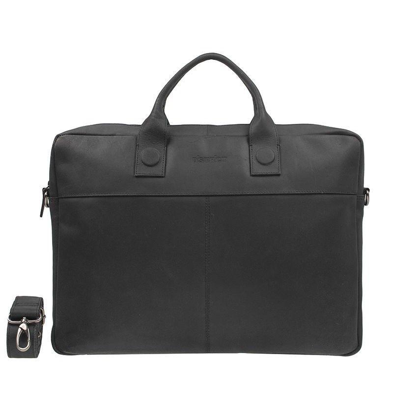 DSTRCT Fletcher Street Business Bag Black 15-17 inch
