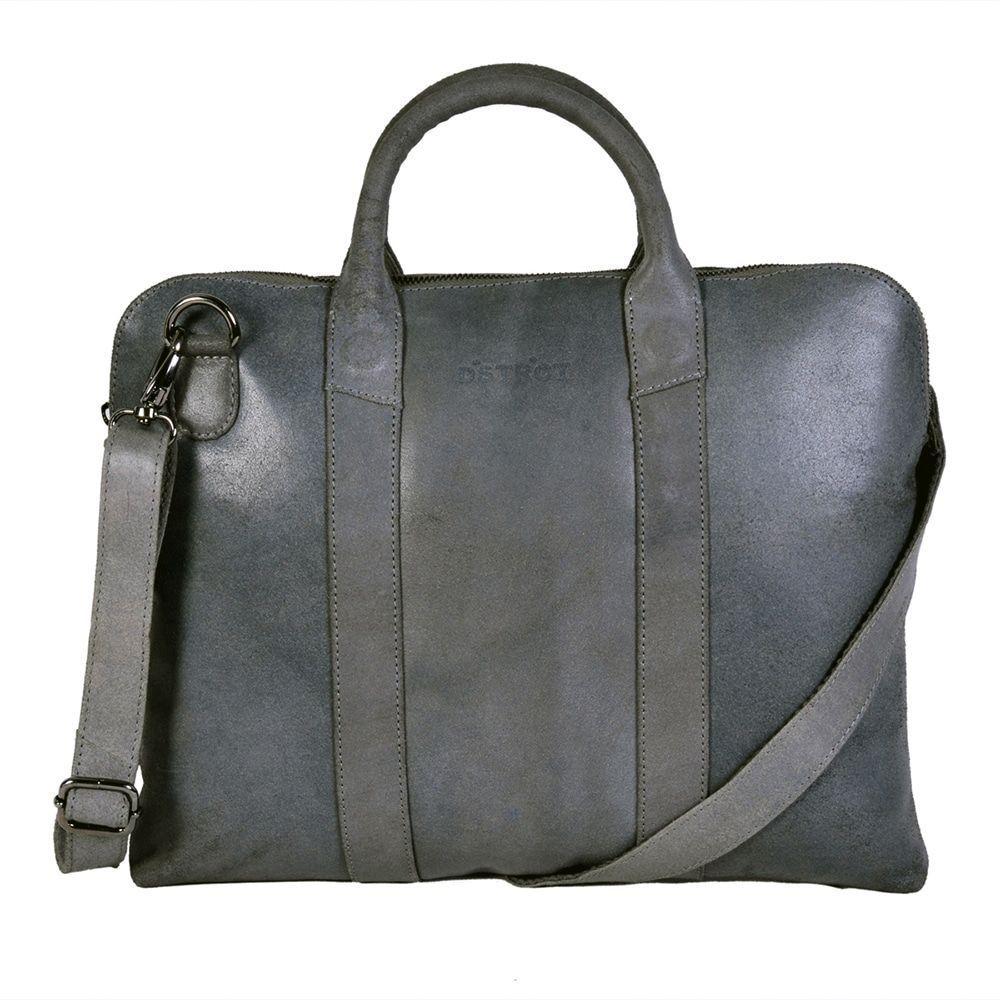 DSTRCT Fletcher Street Business Bag Grey 13 inch