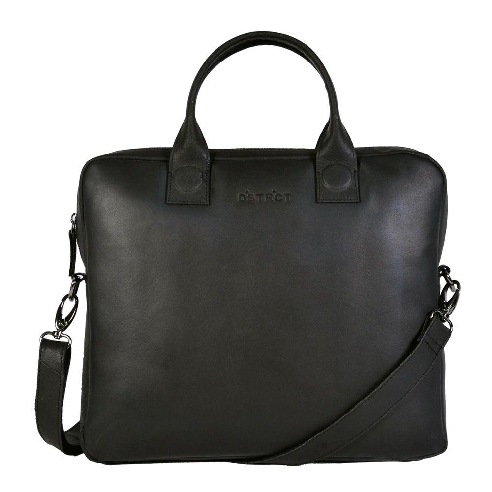 DSTRCT Fletcher Street Business Laptop Bag Black 11-13 inch