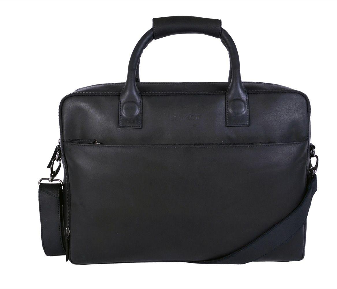 DSTRCT Fletcher Street Business Laptop Bag Black 15-17 inch