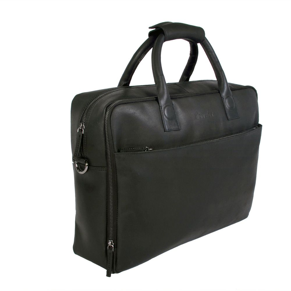 DSTRCT Fletcher Street Business Laptop Bag Black 15-17 inch