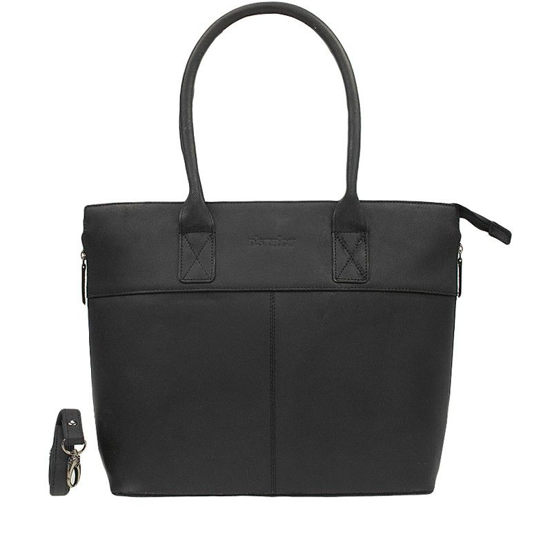 DSTRCT Fletcher Street Dames Laptop Tote Black 15 inch