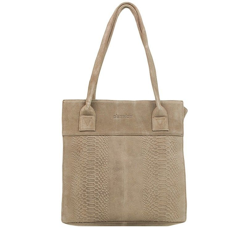 DSTRCT Portland Road Small Shopper Taupe