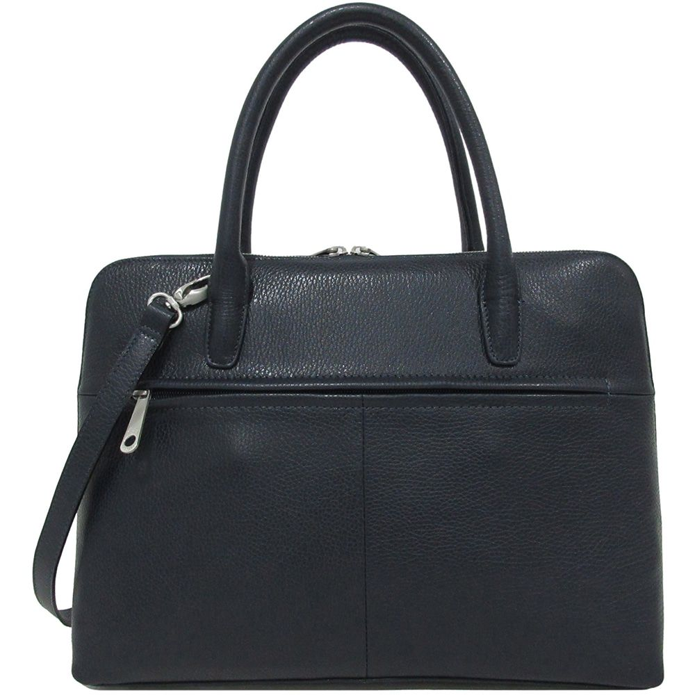 Laptoptas Gigi Fratelli Dames Leren Laptoptas 13.3 inch Romance Business ROM8013 Blauw