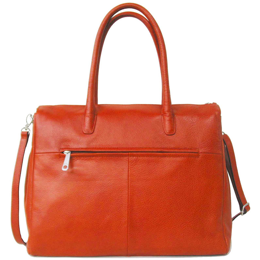 Business Bag Gigi Fratelli Dames Leren Schoudertas iPad Romance Business ROM8005 Oranje