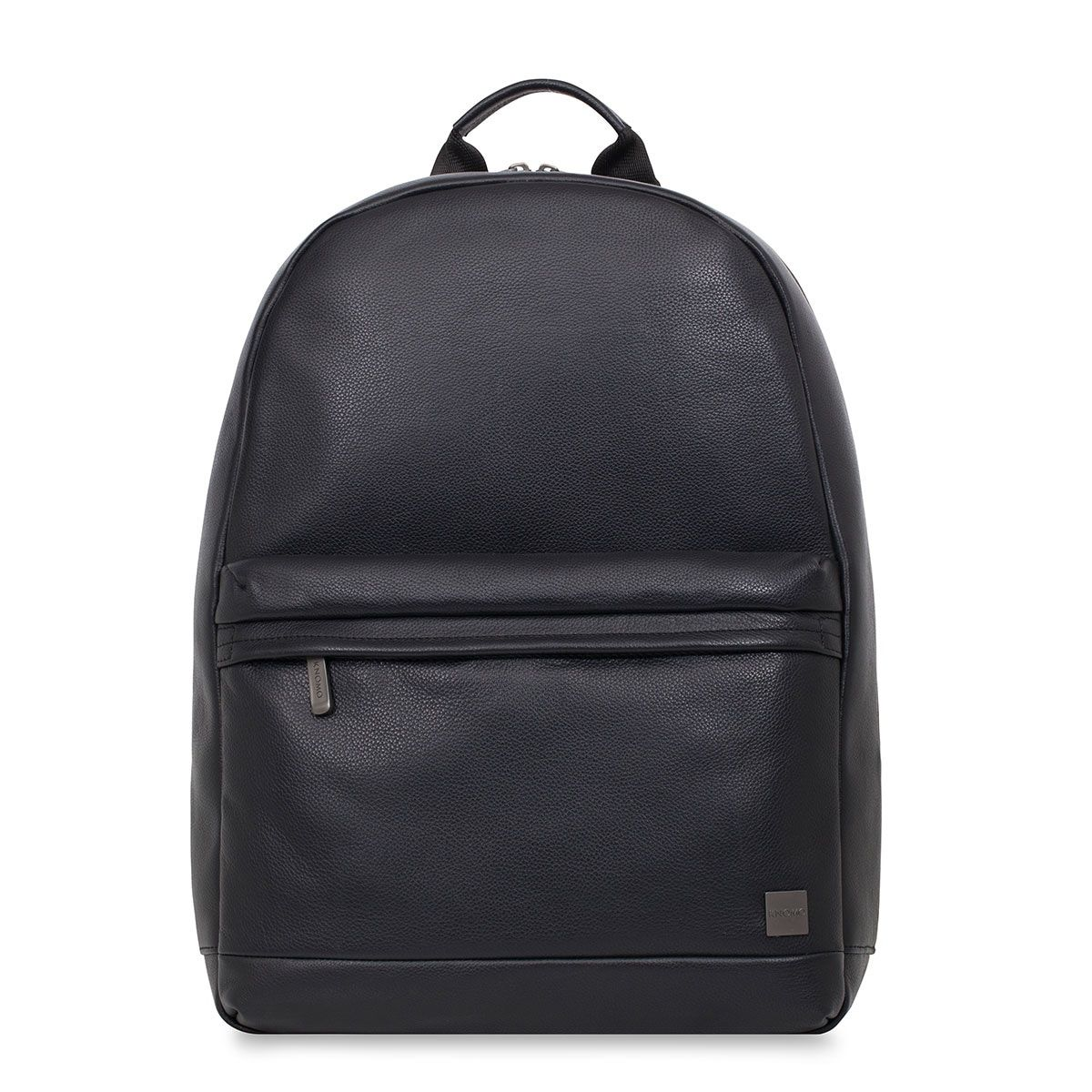 Knomo Albion Leather Laptop Backpack Black 15 inch
