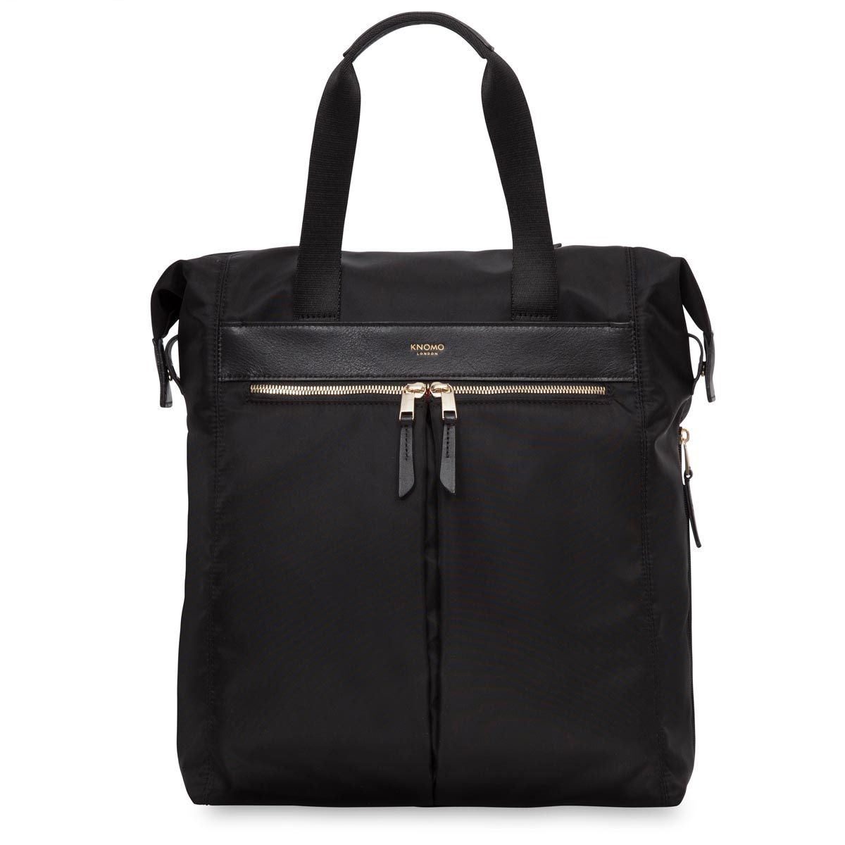 Knomo Chiltern Tote Backpack Black 15 inch