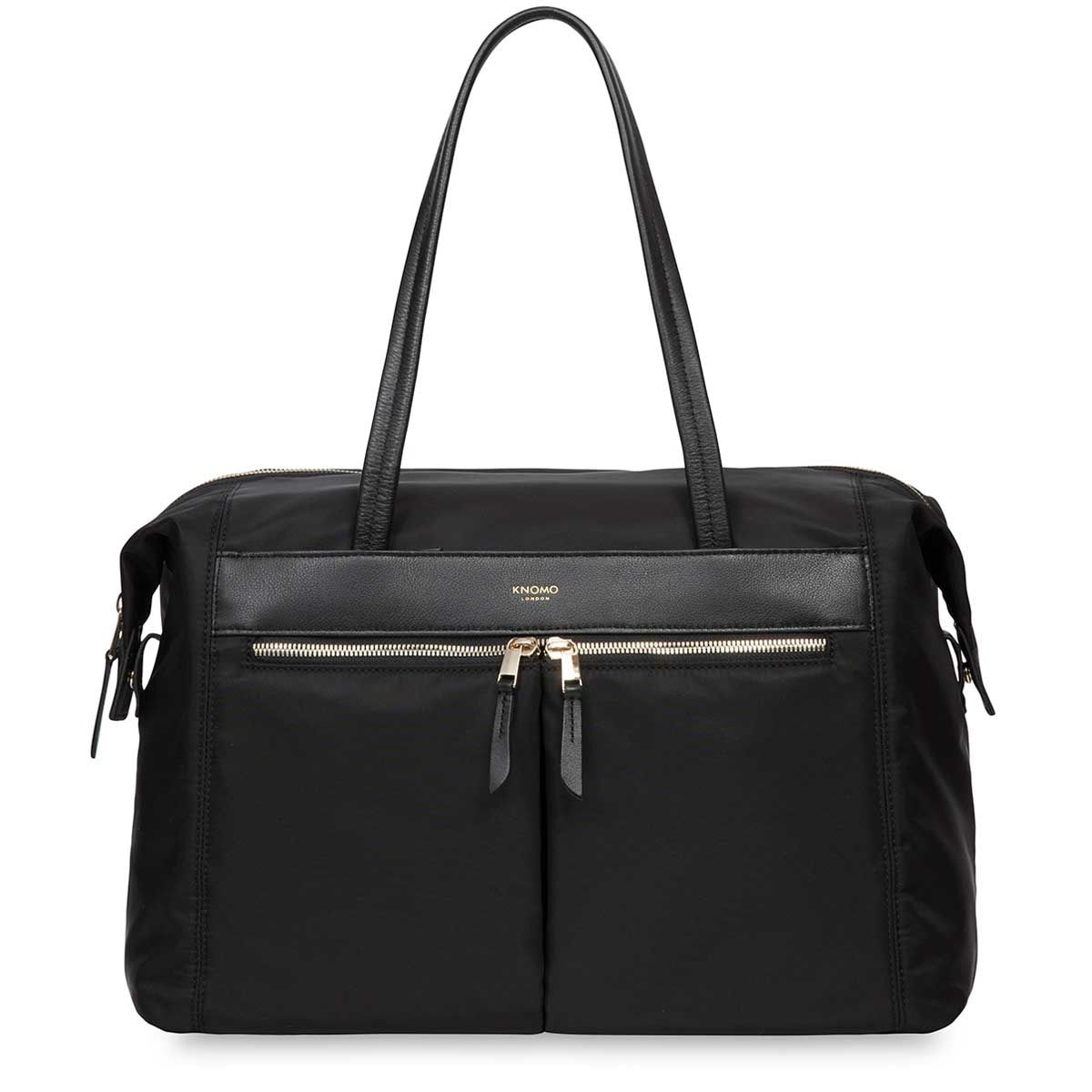 Laptoptas Knomo Curzon Shoulder Tote Black 15 inch