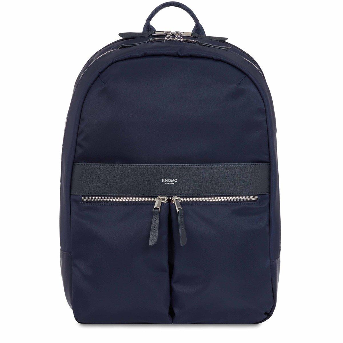 Laptop rugzak Knomo Laptop Rugzak 15 inch Mayfair Beaufort Donkerblauw Zilver
