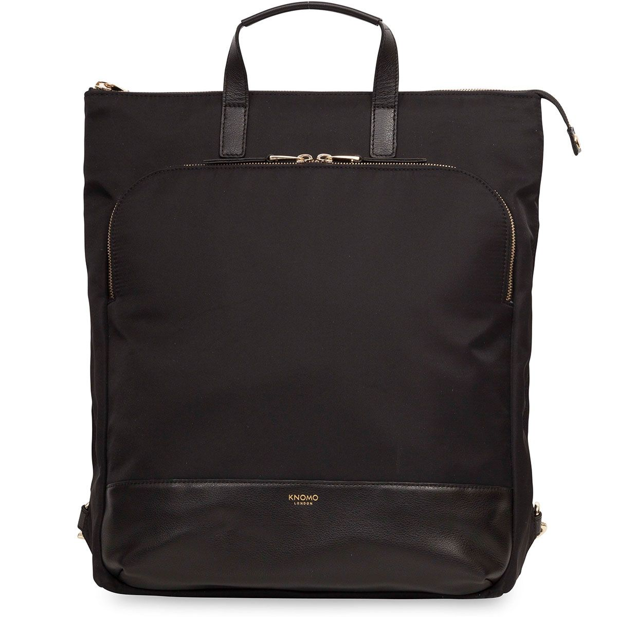 Knomo Harewood Tote Backpack Black 15 inch